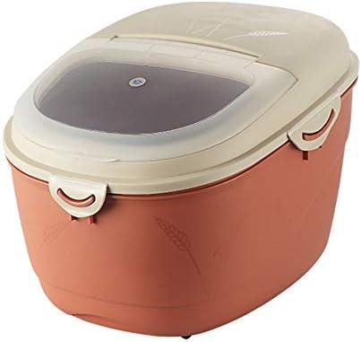 家庭用ライスバケツ防湿と害虫防止穀物容器米/小麦粉貯蔵ボックス10 / 15KG