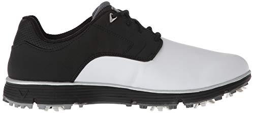 Pictures of Callaway Men's LaJolla Golf Shoe Black/ Black/White 3