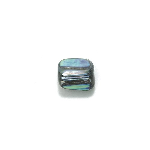 Shipwreck Abalone Nuggets Bead, 10-mm, Average, 30-Piece (Shell Nugget Beads)