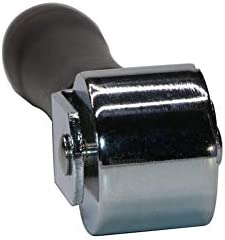 Leder Presskante Roller 26 mm Holz-Leder Presskante Roller Karbonstahl Leder Edge Creaser und Gl/ätter handgefertigt Leder-Kleberolle