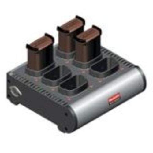 Honeywell Batteries HCH-9006-CHG Gts Batteries, Zebra Enterprise Mc90Xx and Mc91Xx G&K, 6-Bay Battery Charger, Power Supply Included, OEM P/N Sac9000-4000R, SAC9000-400CES