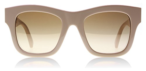 Stella McCartney Women's Chain Square Sunglasses, Pink/Brown, One - Sunglasses Mccartney Stella