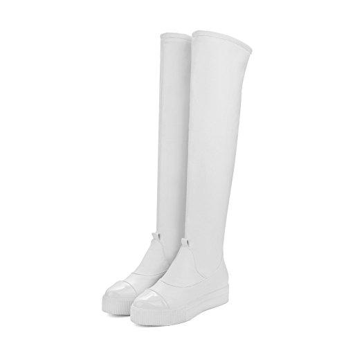 Sconosciuto 1TO9 - A Collo Alto Donna, Bianco (White), 35 EU