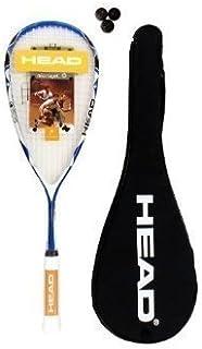 Head Youtek Ltd Typhoon 150 Raquette de Squash 3 balles de Squash