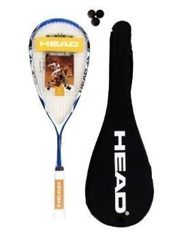 Head Youtek Ltd Typhoon 150 Raquette de Squash 3 balles de Squash