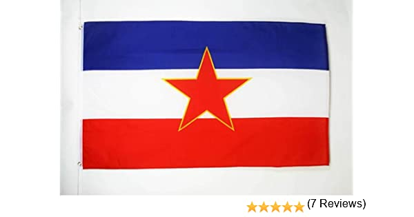 AZ FLAG Bandera de Yugoslavia 90x60cm - Bandera YUGOSLAVA 60 x 90 ...