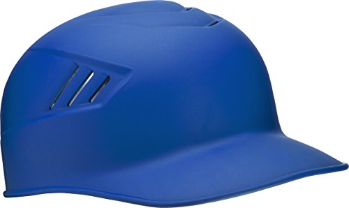 Rawlings Coolflo Matte Style Alpha Sized Base Coach Helmet, Royal, Small