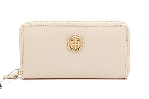 Tommy Hilfiger Womens Continental Zip Around Wallet (Ballet), Medium ()