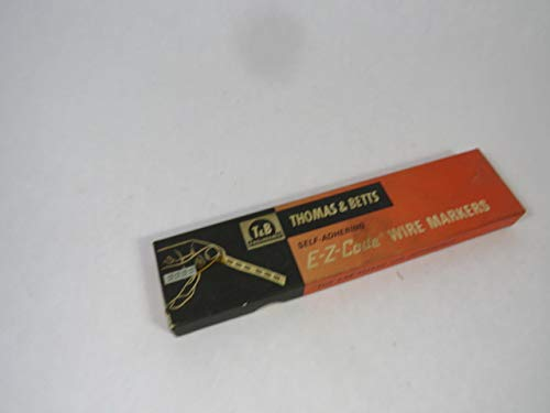 Thomas & Betts T1 Green E-Z-Code Wire Markers Lot of 21