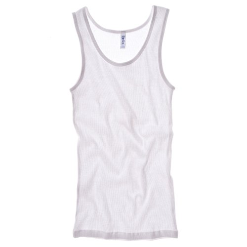 Bella + Canvas Womens/Ladies Rib Tank Vest Top (14 US) (White)