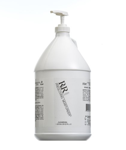 I.C. Cleanroom Hand Lotion, Fragrance Free, Greaseless, with no contaminates Such as Silicone, Lanolin, Glycerin or Mineral Oil. Absorbs Immediately. Glove & CHG Compatible, ESD Safe, NSF E4. Gallon