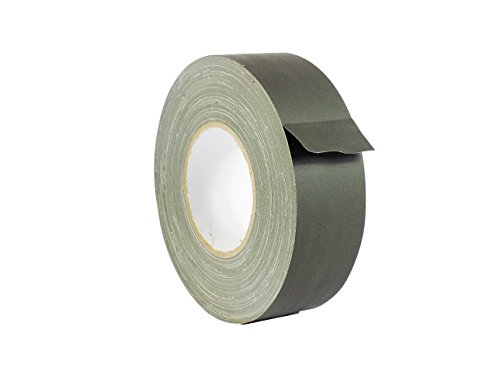 WOD CGT-80 Olive Drab Gaffer Tape Low Gloss Finish Film, Residue Free, Non Reflective Gaffer, Better than Duct Tape (Available in Multiple Sizes & Colors): 1.5 in. X 60 Yards (Pack of 1)