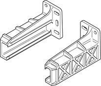 Blum Rear Mounting Bracket For 230M Drawer Slides (Pair)