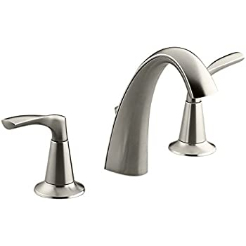 Kohler alteo k 45102 4 cp 2 handle widespread bathroom faucet with metal drain assembly in for Kohler alteo widespread bathroom faucet