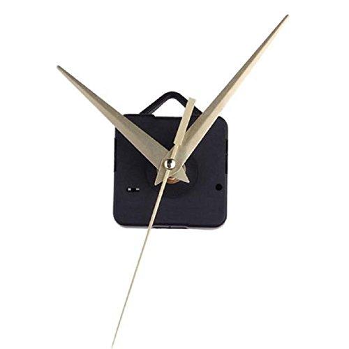 Tonsee(TM) 1PC Quartz Gold Clock Movement Mechanism Hands DIY Repair Replacement