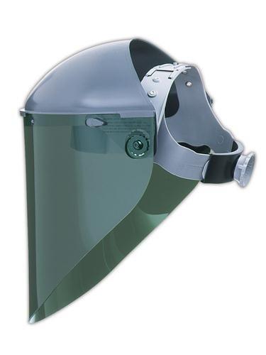 (Honeywell 4199IRUV3 Fiber-Metal Model 4199 Shade 3 Propionate Molded Extended View Faceshield Window, 9 3/4