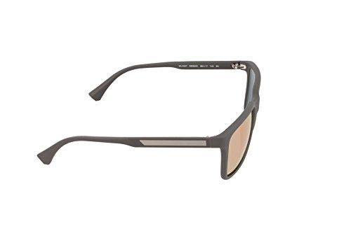 53054z Grey Emporio Armani Sonnenbrille Brown EA4047 Rubber 1xwYUtw4