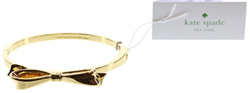 Kate Spade New York Love Notes Bangle Hinged Bracelet (Gold)