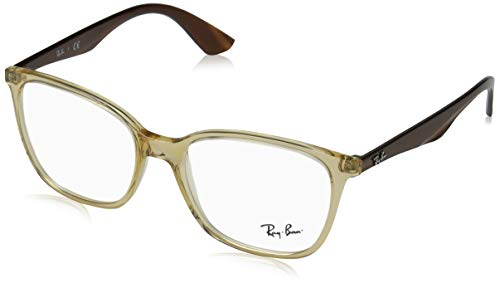 Ray-Ban RX7066-5770 Eyeglasses TRANSPARENT BEIGE 52mm