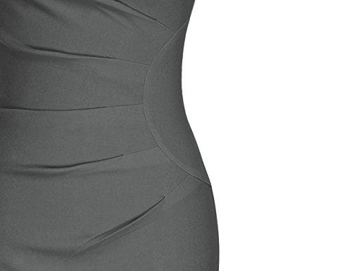 MUXXN Women's Retro 1950s Style Sleeveless Slim Business Pencil Dress 5
