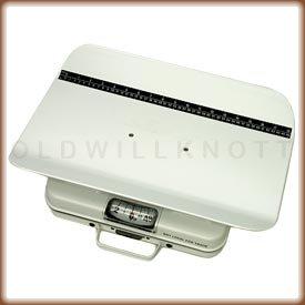 Health O Meter 386KGS-01 Mechanical Scale, Pediatric, Capacity 25kg, 100g Graduation, 19-3/8'' Width x 12-3/8'' Depth x 3-3/4'' Height Seat