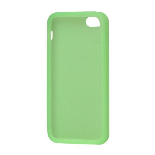 iProtect Silikon Schutzhülle iPhone 5 / 5S Soft Case weich hellgrün