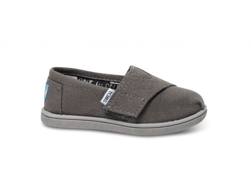 - Toms Toddlers Tiny Classics Ash Canvas Ash Casual Shoe  8 US Toddler