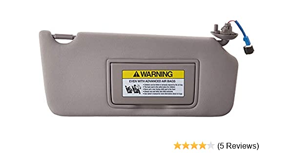 Right Honda Genuine 83230-TA5-A51ZA Sun Visor Assembly