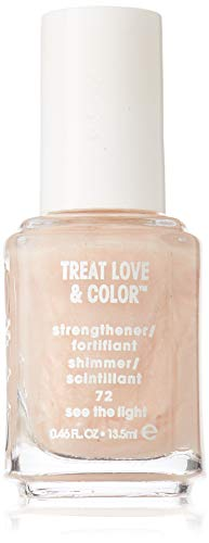 See Treat (essie Treat Love & Color Strengthener for Normal To Dry/Brittle Nails, See The Light)