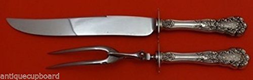 (Buttercup by Gorham Sterling Silver Roast Carving Set 2pc HHWS (Knife & Fork))