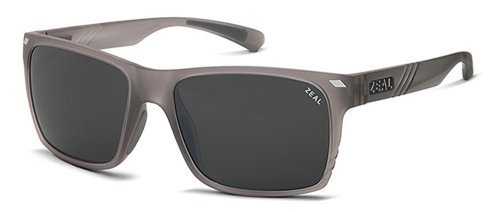 Zeal Optics Brewer Polarized Sunglasses - Granite Grey Frame with Dark Grey - Zeal Sunglasses