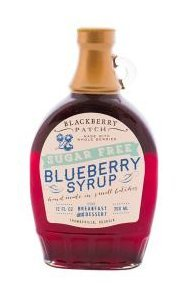 Whole Blueberry Sugar Free Syrup, 12 oz by Blackberry (Blackberry Patch)