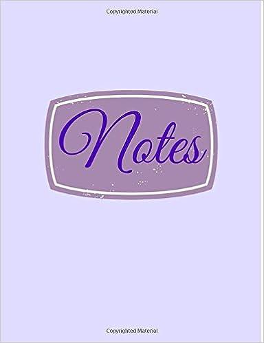 Book Notes: Volume 6 (Jumbo School Notebooks)