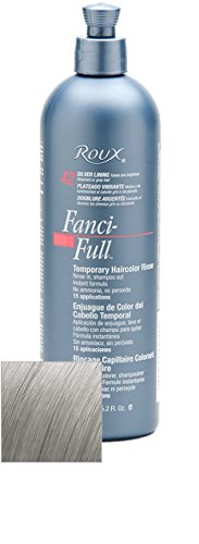 Roux Fanci-Full Temporary Color Rinse 42 Silver Lining, 15.2 oz