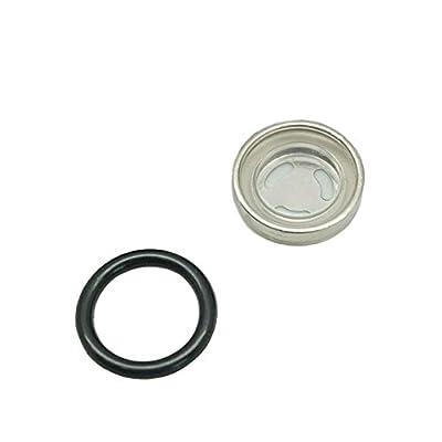 Lefossi 18mm Sight Glass Lens Gasket Repair Kit Motorcycle Front Rear Brake Clutch Master Cylinder For Honda Yamaha Kawasaki Suzuki: Automotive