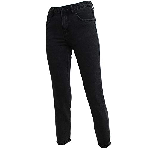 Muying Nero Alta Sotto Stretto Zhang Jeans Vita Donna dwx6dq07