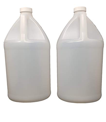 USP HDPE Bottle, Jug Style, 1 gal, Plastic (2 COUNT) by mollys products