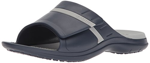 crocs Unisex Adult MODI Sport Slide Navy/Light Grey