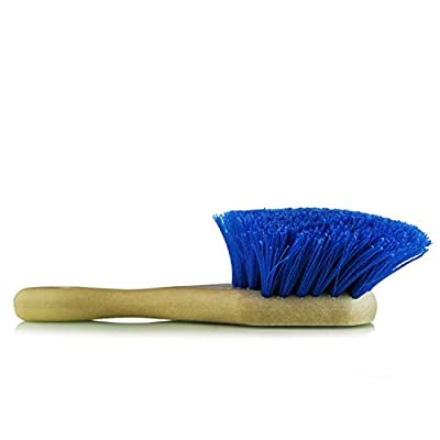 Chemical Guys ACC_G05    Blue Chemical Resistant Stiffy Brush,  , 1 Pack: Automotive
