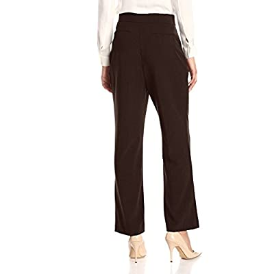 Briggs York Women's Bistretch Tummy Straight Leg Pant at Women's Clothing store