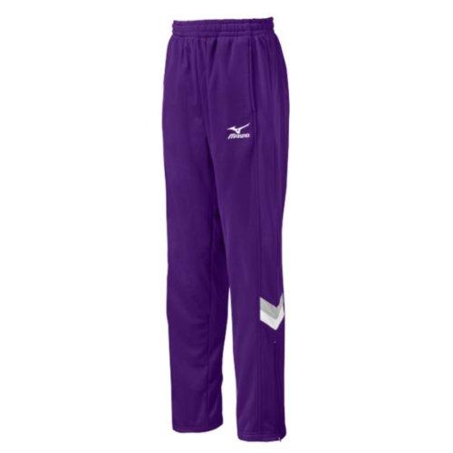 Us Warm Up Pant (Mizuno Women's Team IV Warm-Up Pant, Purple, XX-Large)