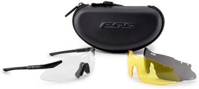 ESS Eyewear Hielo 3LS Eyeshield Kit, Negro