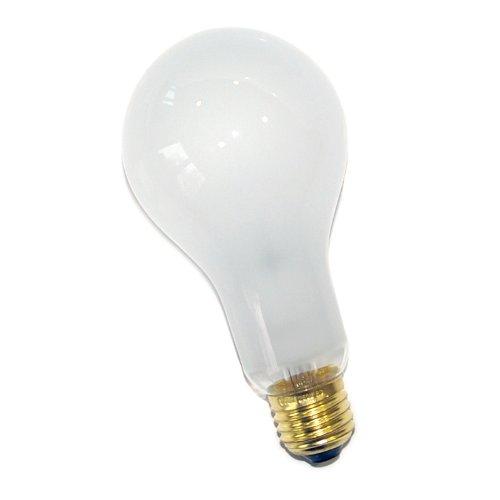 1x ampoule Mat 200W Ampoule à incandescence antichoc E27200W