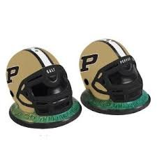 The Memory Company NCAA Purdue Helmet Salt and Pepper Shakers by The Memory Company (Image #1)