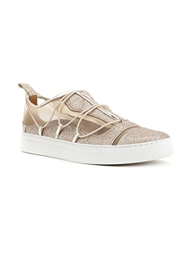 Sneakers Slip Glitter Oro DSQUARED2 On Donna SNW0507292000017043 BEwBqnCx7X