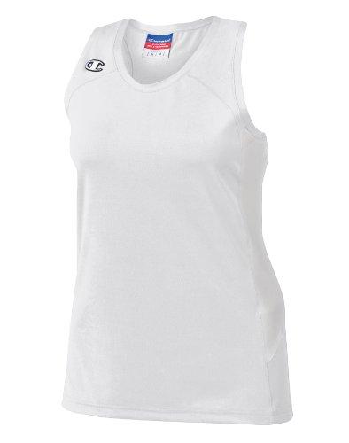 Mästare Dubbel Dry® Stretch Brottarrygg Womens Jersey # L542 Vit