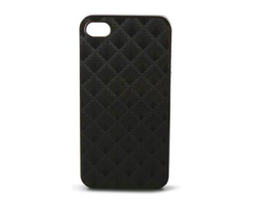 KSIX B0917CAR22 Net Cover für Apple iPhone 4 schwarz