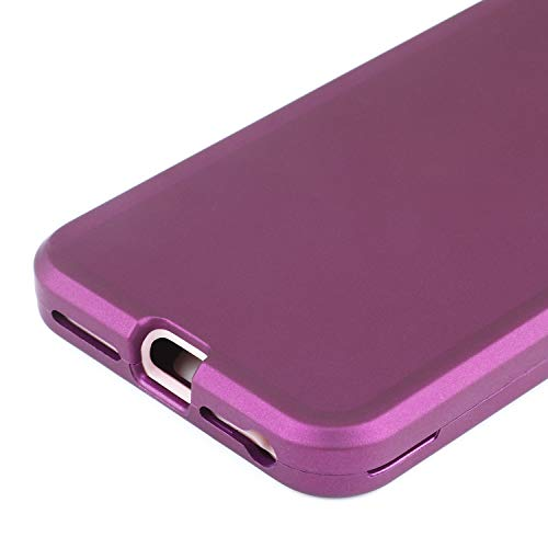 Co-Goldguard Case for iPhone 7 Plus/8 Plus Heavy Duty Shockproof High Impact Resistant Dual Layer Hybrid Protective Cover Shell for Apple iPhone 7+/8+(5.5 inch),Purple