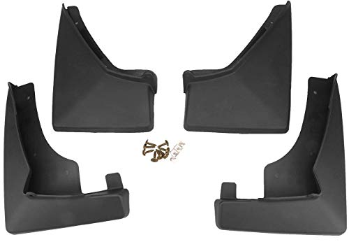 AUTOPA 19170630 Front & Rear Mud Flaps Splash Guard Kit for Cadillac SRX 10-16