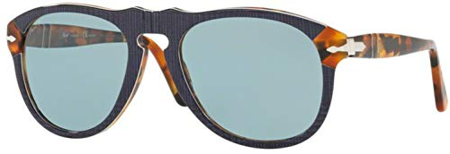 Persol Man Sunglasses, Blue Lenses Acetate Frame, ()